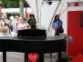 Optreden Nigel Brown Stage Podium