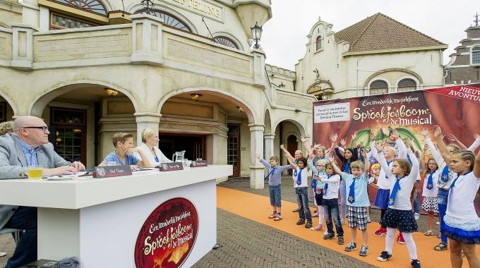 24 kinderkoren doen auditie voor nieuwe Efteling-musical