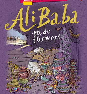 Cast Ali Baba en de 40 rovers compleet.