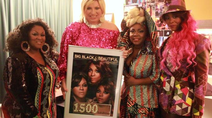 Big Black & Beautiful bereikt mijlpaal met 1500ste liveshow!