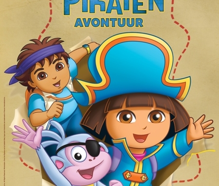 Van  Hoorne Entertainment en Nickelodeon presenteren Dora Live! Dora's Piratenavontuur