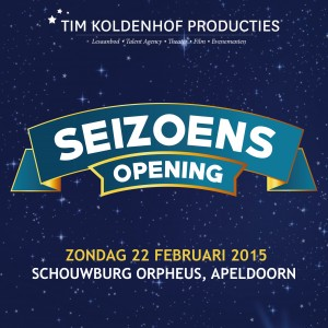 Seizoensopening Tim Koldenhof Producties