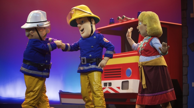 Extra zomertoer Brandweerman Sam Live!   Piekepolder op Stelten