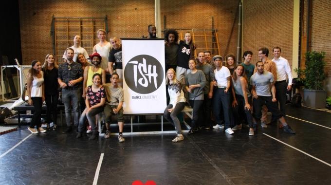ISH onthulling nieuw logo en repetities – FotoReportage