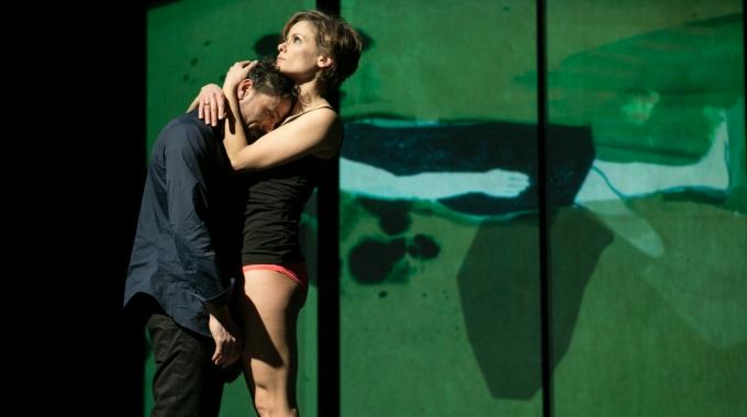 Angela Schijf en echtgenoot Tom Van Landuyt voor het eerst samen in Nederland op de planken