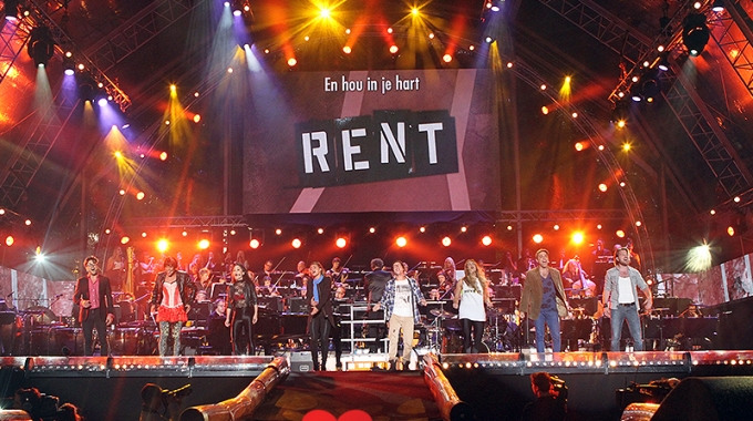 RENT groot succes tijdens Musical Sing-A-Long