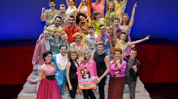 100.000 tickets verkocht voor de musical Grease