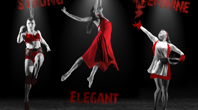 Powervrouwen tarten de zwaartekracht in opzwepende  en dynamische voorstelling No Sweat!