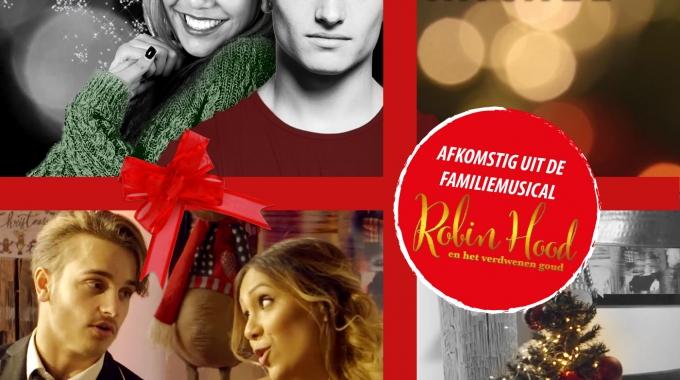 Ralf & Rachel zingen kerstsingle uit musical Robin Hood en het verdwenen goud.