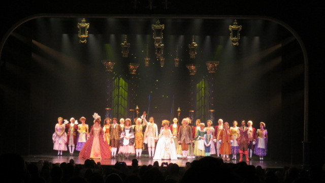 1e Try-out 'Beauty and the Beast' geslaagd!