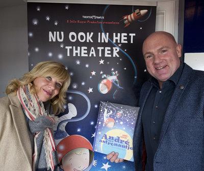André Kuipers lanceert voorstelling André het astronautje