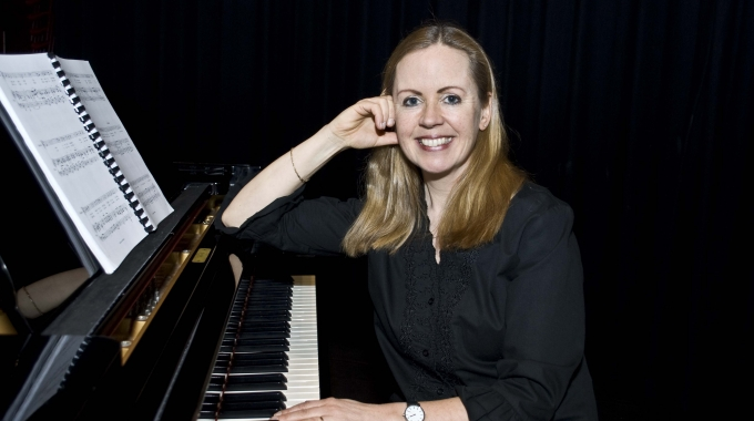 Rosite van der Woude geeft masterclass op MusicalCamp.