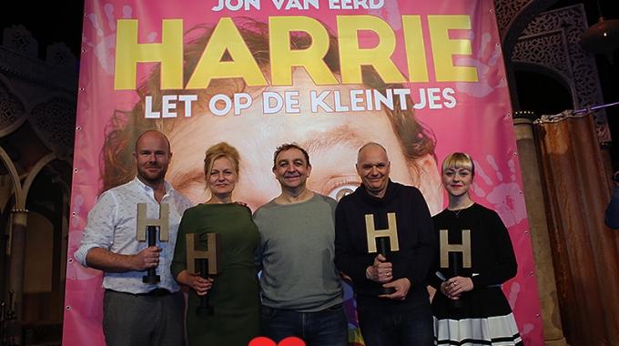 Cast presentatie Harrie let op de kleintjes – Fotoreportage