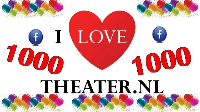 1000 Likes op onze Facebook Pagina.