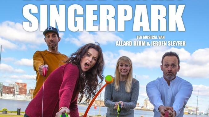 Nieuwe musical De bende van het Singerpark brengt verhaal over hondenbezitters en hun viervoeters