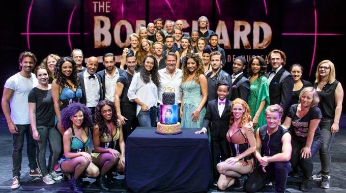 The Bodyguard viert haar 250e voorstelling!