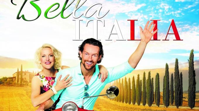 Leonie Meijer en Marijn Brouwers in theaterconcert Bella Italia