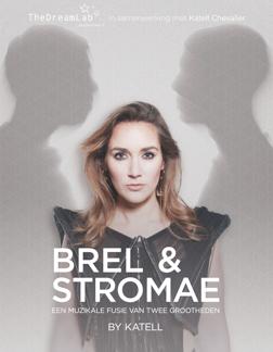 Katell 'Parel' van The Voice of Holland' met eigen show Brel & Stromae in theater