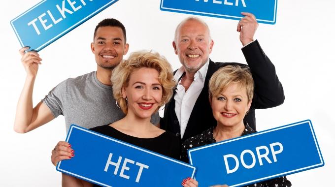 Frans Mulder en Vera Mann in Telkens weer Het dorp