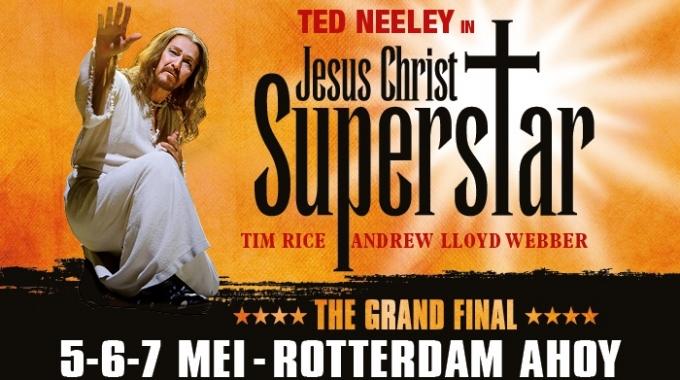 CAROLINA DIJKHUIZEN PRESENTEERT THE GRAND FINAL  JESUS CHRIST SUPERSTAR IN ROTTERDAM AHOY