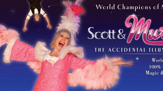 Scott & Muriel – The Accidental illusionists