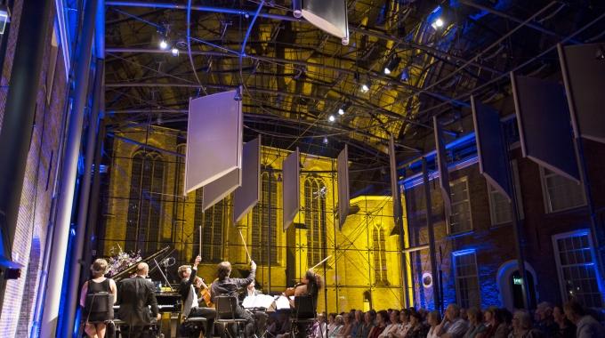 DELFT CHAMBER MUSICFESTIVAL2017 BIJNA VAN START