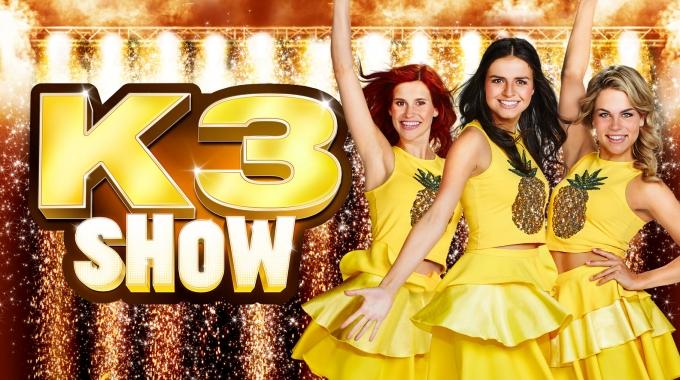 K3 show K3 IN DE RUIMTE uit op DVD