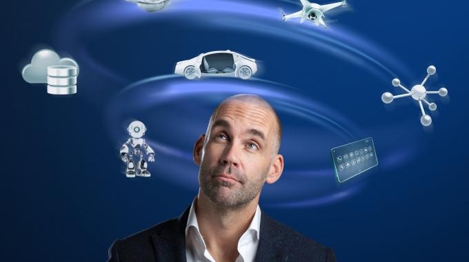 Trendwatcher en futurist Richard van Hooijdonk; Mars wordt vakantiebestemming