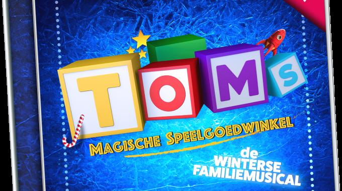 'Het Castalbum van Toms Magische Speelgoedwinkel is uit '
