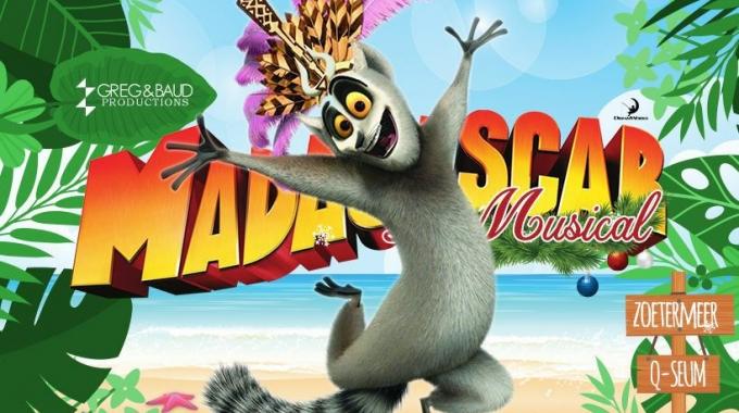Madagascar de Musical voor het eerst bij ons te zien in Nederland