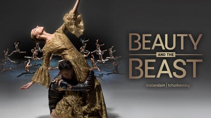 Music Hall, Malandain Ballet Biarritz en La Passione brengen donker en sensueel ballet  'Beauty and the Beast'