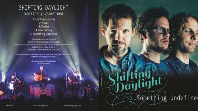 SHIFTING DAYLIGHT LANCEERT ZOWEL NIEUWE EP 'SOMETHING UNDEFINED' ALS VINYL-LP VAN ALBUM