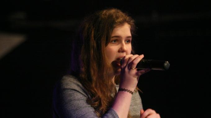 Optreden Tyra Wiertz Internationale vrouwendag Zoetermeer – FotoReportage