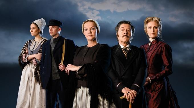 Musicalversie van Heijermans' Op Hoop van Zegen met Bill van Dijk, Mariska van Kolck en Joke de Kruijf