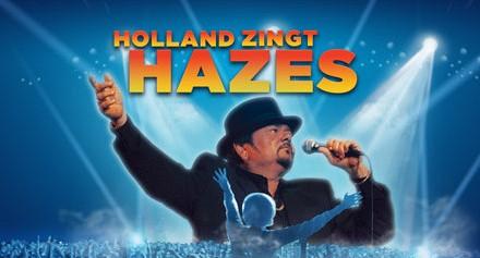 André Hazes in duet met het hologram van zijn vader
