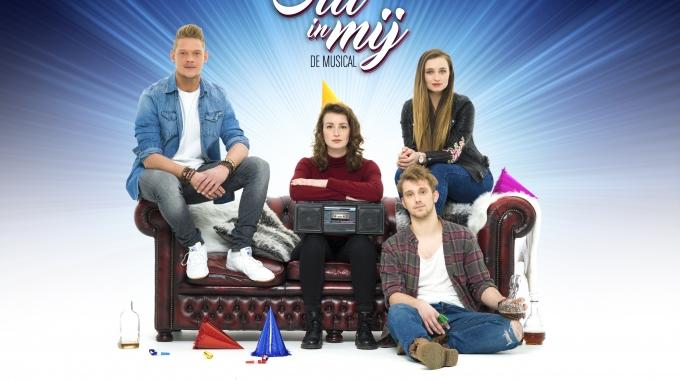 Cast musical 'Stil in mij' brengt gelijknamige song