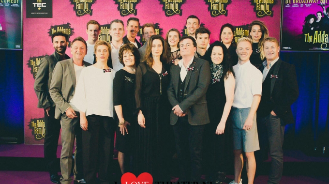 Pers presentatie Cast THE ADDAMS FAMILY – FotoReportage