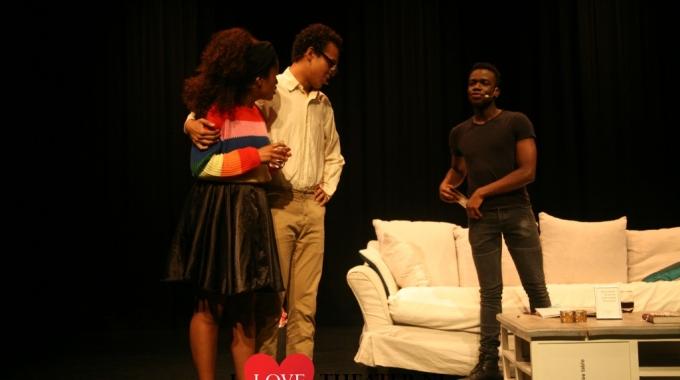 Afstudeer voorstelling John Togba, Rochelle Ramos en Ismael Berens – FotoReportage