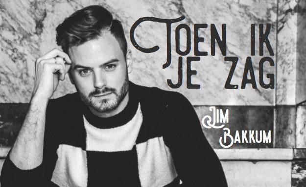 Jim Bakkum met 'Toen ik je zag' na 1 dag op nummer 1 in iTunes Hitlijst