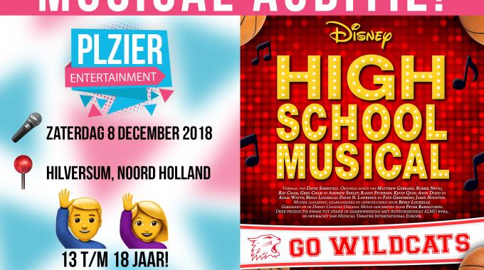 Audities: Disney's High School Musical komt naar Hilversum