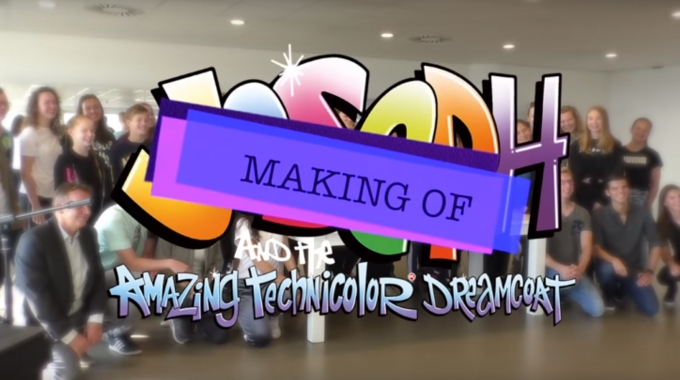 Making-of Joseph and the Amazing Technicolor Dreamcoat (DEEL 1)