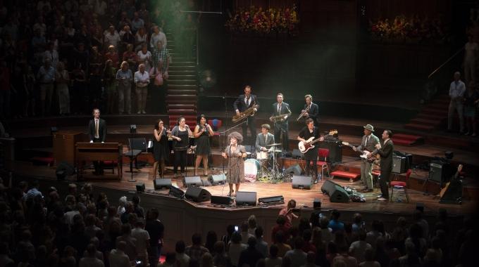 Aretha Franklin voor één avond terug in Het Concertgebouw