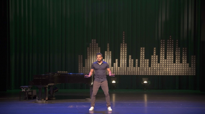 Rayen Panday; Een belofte in de wereld van stand up comedian