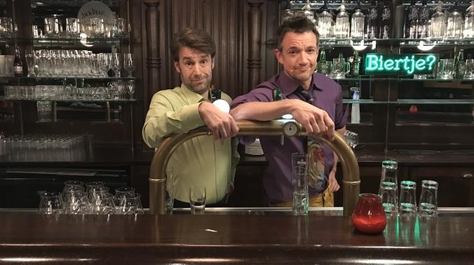 Paul Groot en Remko Vrijdag maken cast 't Schaep met de 5 Pooten compleet.