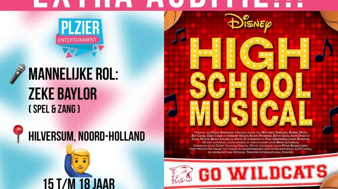 EXTRA MANNEN AUDITIE DISNEY'S HIGH SCHOOL MUSICAL