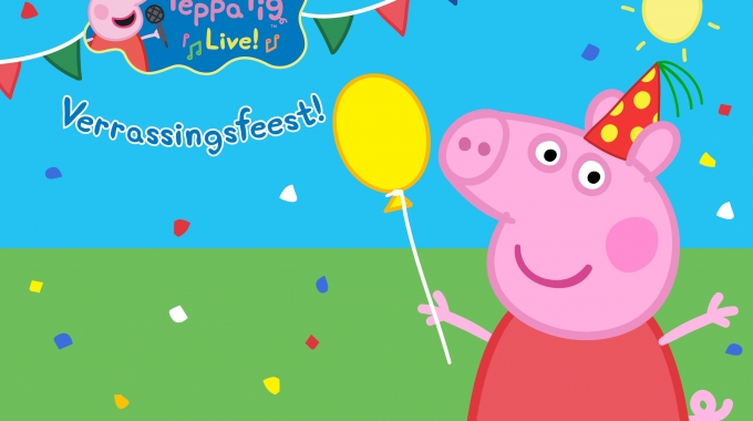 30.000 tickets voor Peppa Pig Live! verkocht
