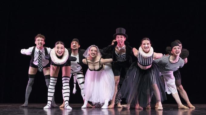 Black & White; ballet met een rauw randje