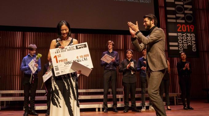 Yang Yang Cai wint YPF Piano Competition 2019