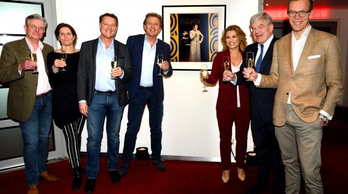 Robert ten Brink opent Mies Bouwman Foyer in het Beatrix Theater Utrecht