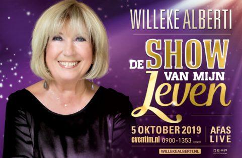 Willeke Alberti geeft wegens groot succes extra concert van ''De Show Van Mijn Leven'' in AFAS Live
